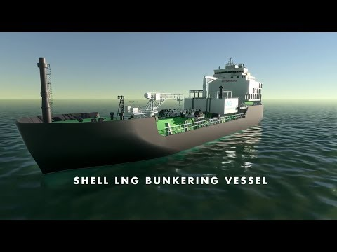 Shell's LNG Bunker Vessel – providing a cleaner burning mari