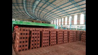 Gambar cover Mobile Rotary Bricks Burning Kiln for Fully Auto Clay Bricks Production Line
