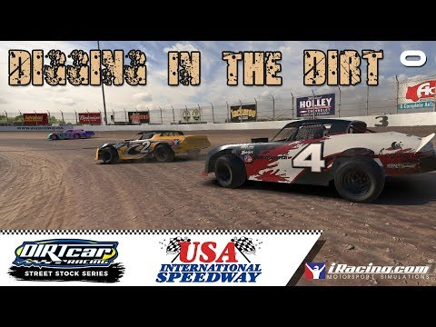 Digging in the DIRT: Street Stock @ USA International Speedway