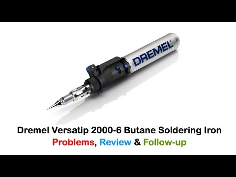 dremel versatip 2014 butane soldering iron unboxing doovi. Black Bedroom Furniture Sets. Home Design Ideas
