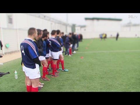 """""""Drop 2 Zonzon"""" le rugby au coeur de la prison"""
