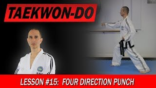 Four Direction Punch - Taekwon-Do Lesson #15