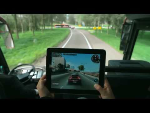 Vodafone's mobile broadband - Race game