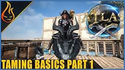 Atlas MMO Pet Taming Basics Part 1