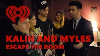 Kalin and Myles Play Escape the Room with Fans | Artist Challenge