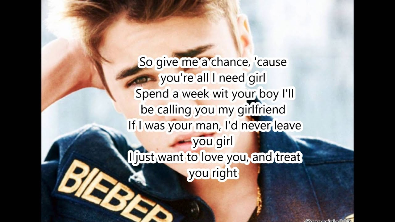 Justin Bieber – Boyfriend Lyrics | Genius Lyrics