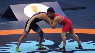Борьба. Чемпионат мира-2017. 74 кг 1\16 Саякбай Усупов-Парвин Рана (Индия)