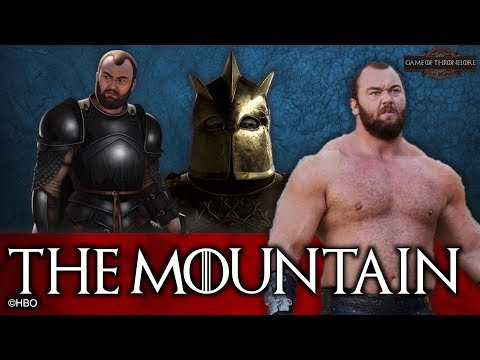 The Entire Life Of The Mountain Ser Gregor Clegane
