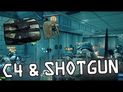 Battlefield 3 - C4 & Shotgun Gameplay