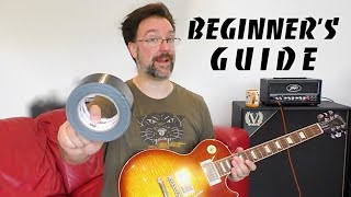 The Beginners Guide To Electric Guitar Gear - Guitars Amps  Pedals