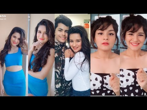 Avneet Kaur Tiktok Videos With Riyaz, Arishfa, Lucky, Jannat And More | Being Viral