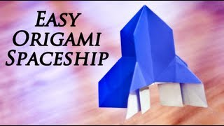 How To Make An Easy Origami Spaceship