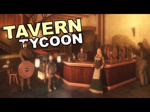 MAKING BIG MONEY IN THE TAVERN, New Recipes + New Tavern Updates - Tavern Tycoon Gameplay Part 5