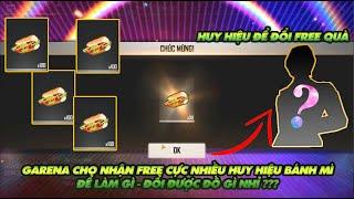 Garena Free Fire| Bất ngờ cho người chơi nhận huy hiệu bánh mì để làm gì - Garena sẽ cho đổi quà gì?