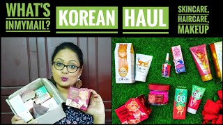 *giveaway open* |Korean Haul India | Elizavecca | April Skin | Beauty of Joseon | Jolse Website