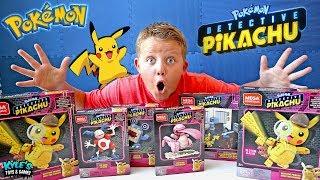 POKEMON Detective Pikachu Toys I've Never Seen!