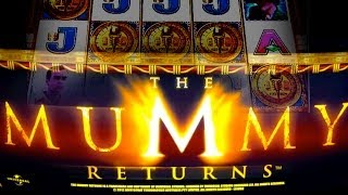Aristocrat *NEW* - The Mummy Returns - *NICE WIN* - Slot Machine Bonus