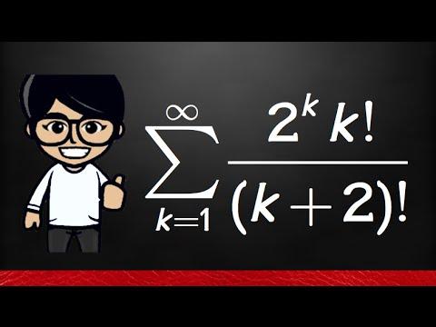 11 7#8 Ratio Test, series (2^k*k!)/(k+2)!