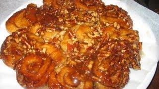 Sticky Pecan Cinnamon Buns