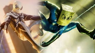Spider-Man Ps4 - 2 New Free Skins! Fantastic Four!