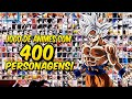 MEGA ATUALIZAÇÃO!!! ANIME MUGEN COM 400 PERSONAGENS PARA JOGAR NO ANDROID!