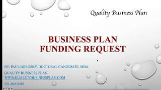 How to write a business plan for funding thumbnail