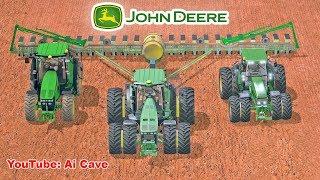Farming Simulator 2017 - Amazing John Deere tractors collection and equipment mods
