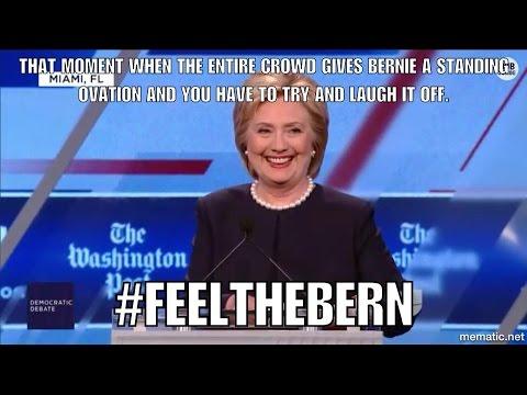 FULL : Miami Democratic Debate - Bernie Sanders vs Hillary Clinton