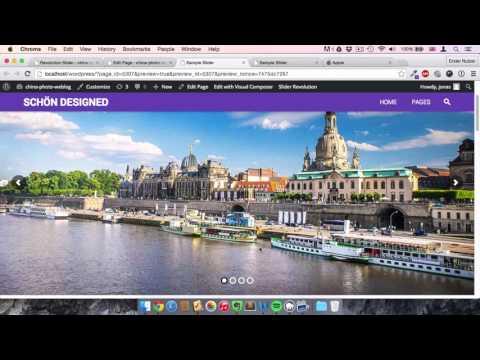 Revolution Slider 5 Wordpress Tutorial