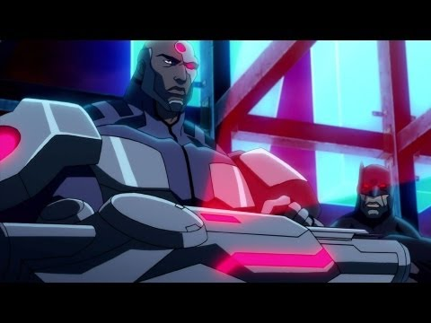 Justice League - The Flashpoint Paradox - Clip # 1 - Cyborg and Batman - Official (2013) [HD]