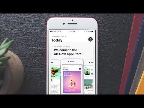 iOS 11's Redesigned App Store