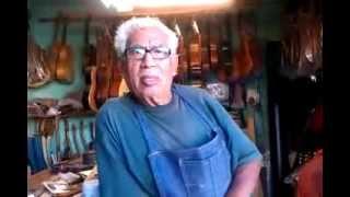 Eusebio Rincón Aguilar-13 Laudero Mexicano 60 años de experiencia