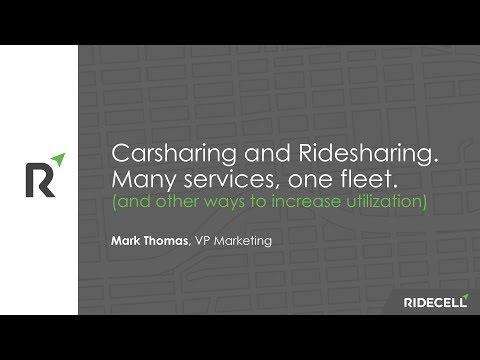 TU Automotive 2017: The future of carsharing and ridesharing