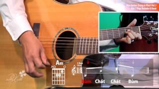 Học Guitar Trong 8 Phút Vol.1- Bài 7: Pop Balade 8  Beat