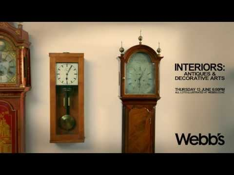 Webbs Interiors: Decorative Arts and Antiques. Auckland, New Zealand