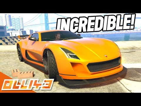 THIS NEW ELECTRIC CAR IS STUPIDLY FAST! (GTA 5 Online)