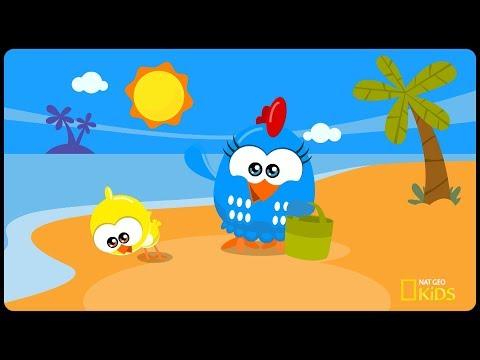 Galinha Pintadinha Mini: Dia de Praia | Episódio completo