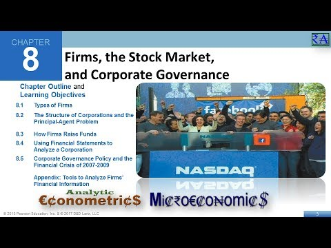 Microeconomics - Chapter 08: Firms, the Stock Market and Corporate Governance