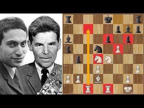 Nezhmetdinov VS Tal - This Game is Magical