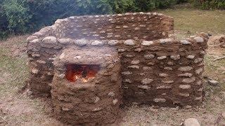 Primitive Technology: Stone House Part 09