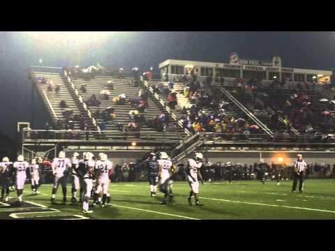 Fremont scores a touchdown