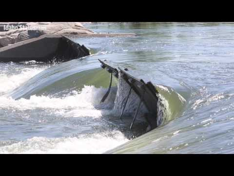 These guys create waves at Boise's whitewater park. Literally.