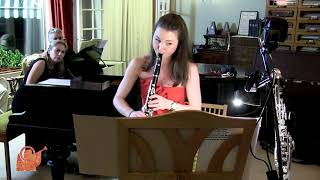 Grand Duo Concertant for clarinet and piano– Carl Maria von Weber. Jenni Moss & Catherine Milledge