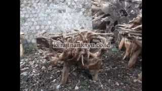 Teak Root Dining Table Base | Kerajinankayu.co.id