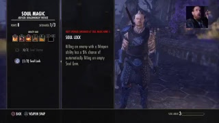 Eso online gameplay come chill!!!! Picture quality not that good