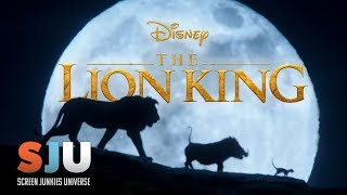 A Full Lion King Trailer Is Here! | SJU