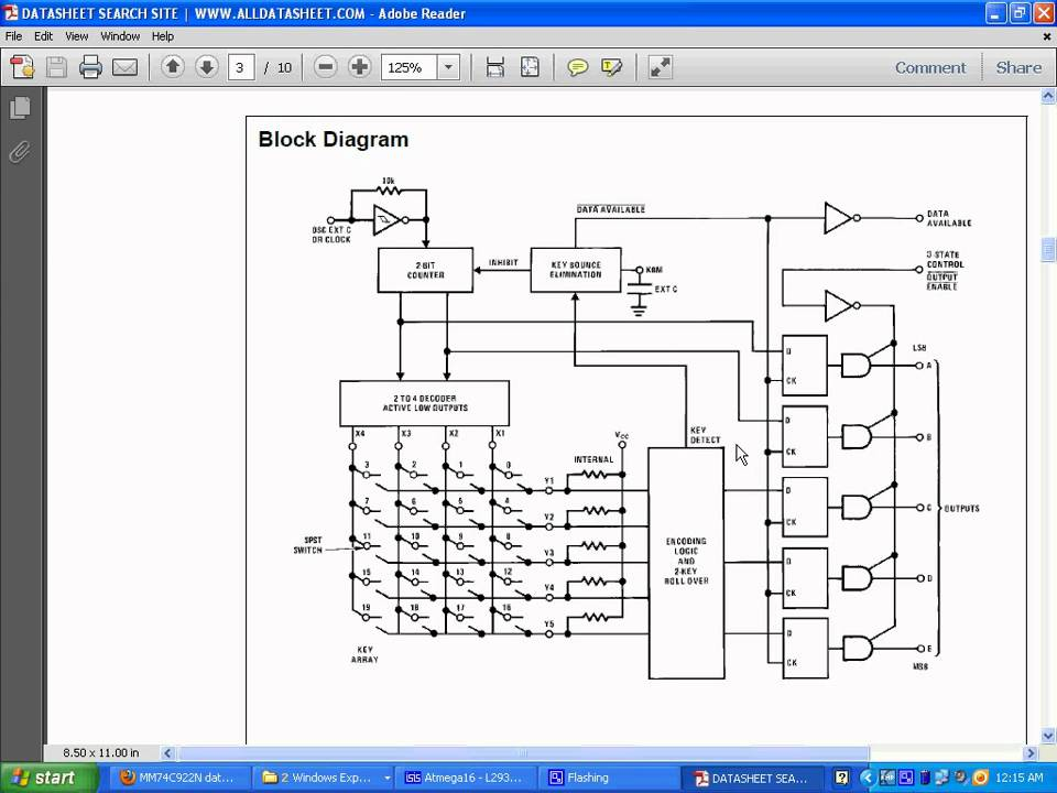 Part I Of Interfacing Keypad To Atmega 16 Microcontroller Somanath