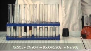 Выпадение оксидов и гидроксидов тяжёлых металлов