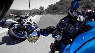 Suzuki GSX-R 1000 Vs Everyone
