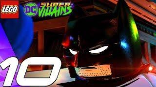 LEGO DC Super Villains - Gameplay Walkthrough Part 10 - Batman & Superman (Full Game)